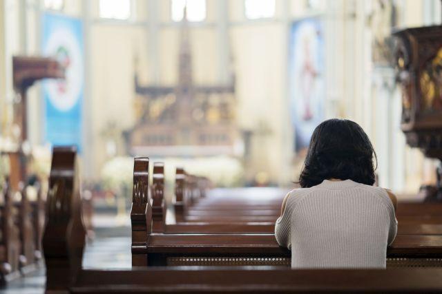 Nein, zu Gewalt an Frauen in Kirche!