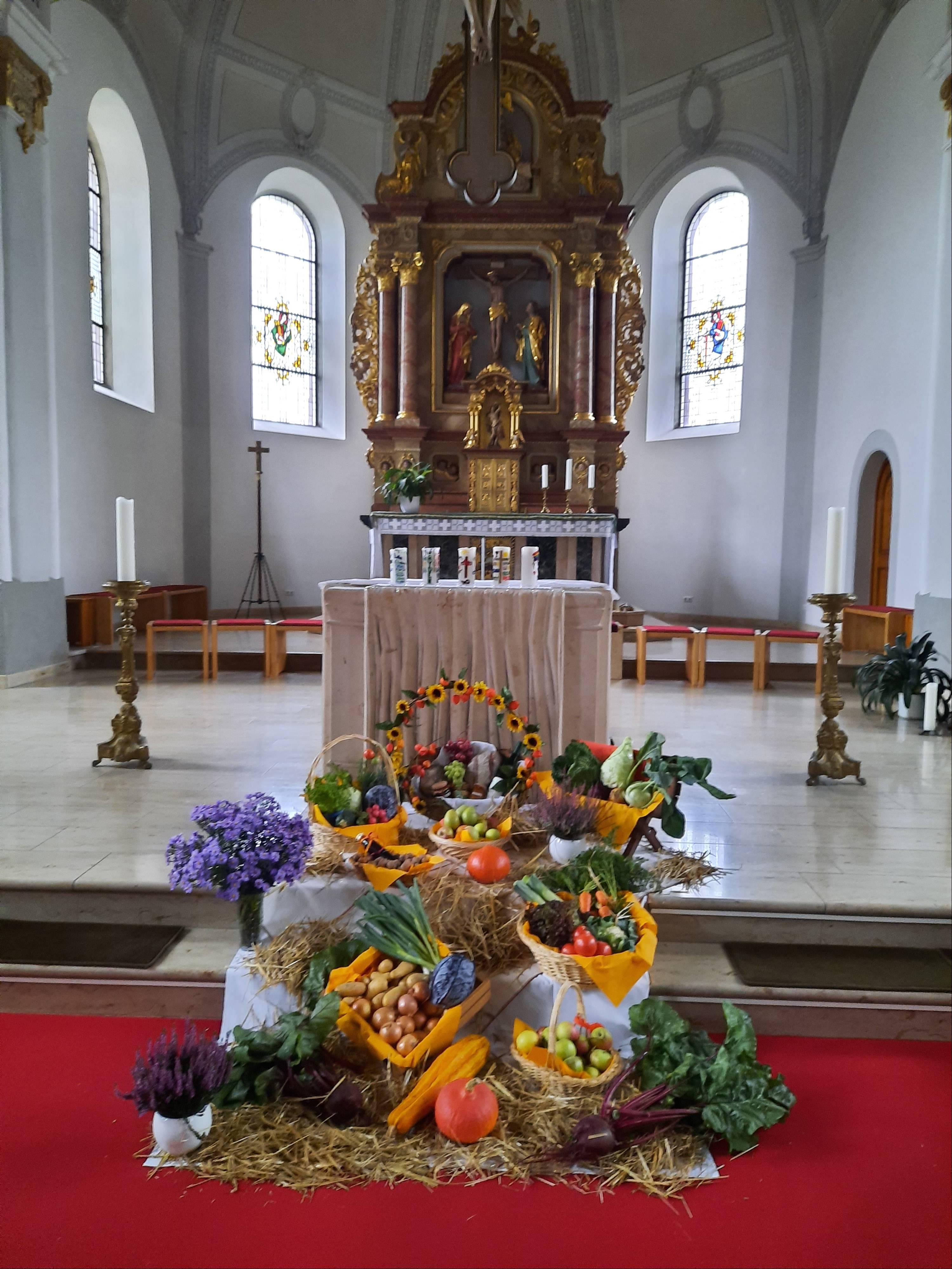 Erntedank-Altar kfd-Eppelborn