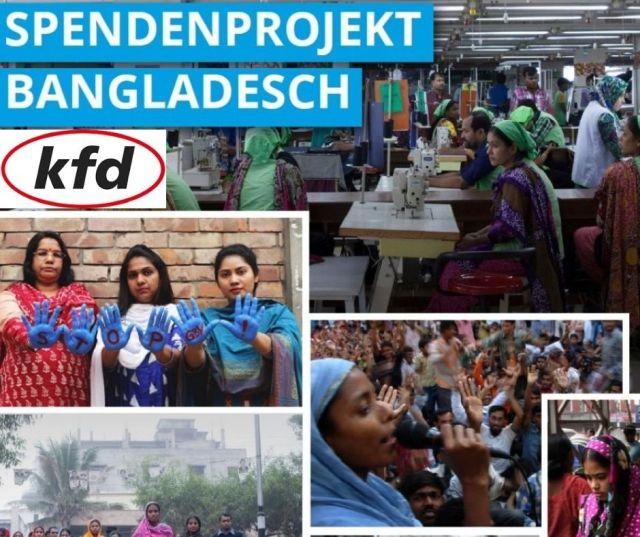 kfd für Menschenrechte in der Modeindustrie