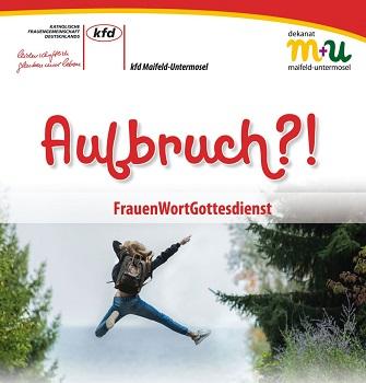 Plakat FrauenWortGottesdienst