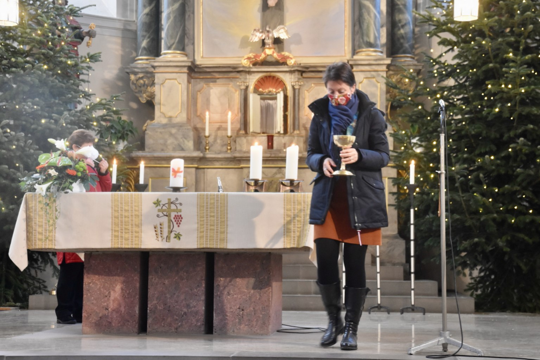 Neujahrsgottesdienst kfd Irlich