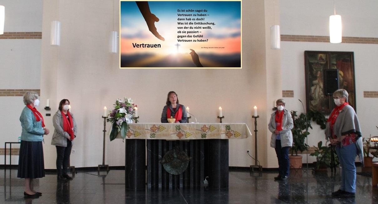 Wort-Gottes-Feier kfd St. Bonifatius (c) Roswitha Greiwe