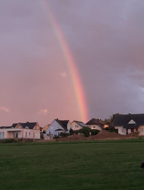 Regenbogen bei Dickenschied