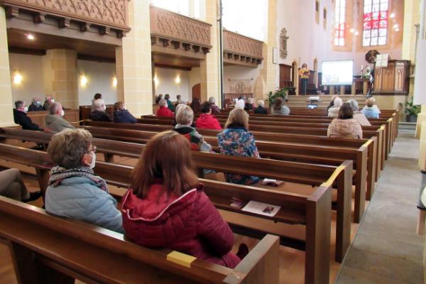 Dekanat Simmern-Kastellaun ökumenischer Frauengottesdienst Stephanskirche