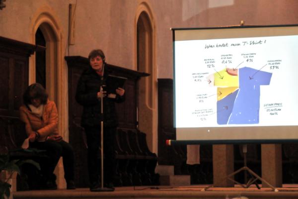 Dekanat Simmern-Kastellaun ökumenischer Frauengottesdienst Was kostet mein T-Shirt