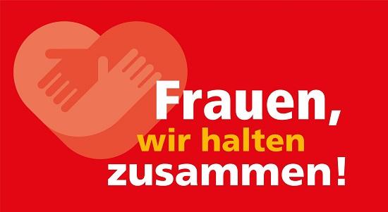Logo Frauen wir halten zusammen © kfd-Bundesverband