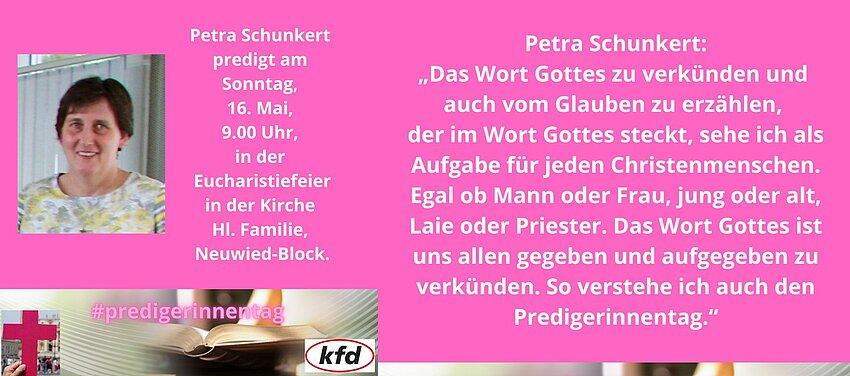 Petra Schunkert predigt anlässlich des Tages der Junia.