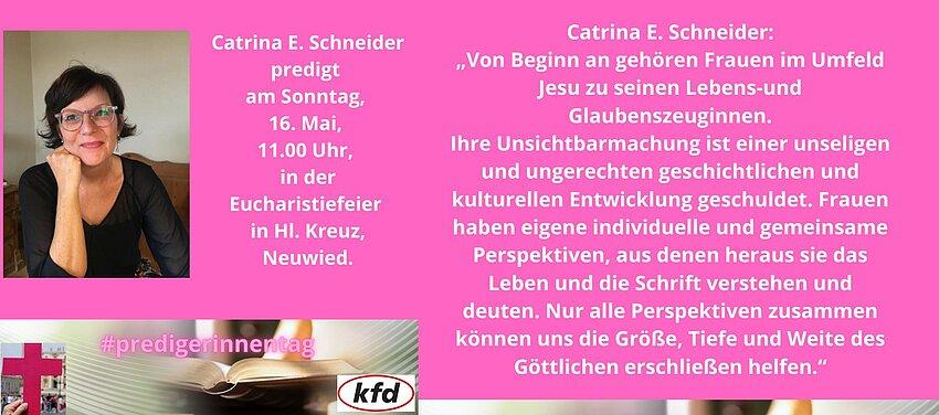 Catrina E. Schneider predigt anlässlich des Tages der Junia.